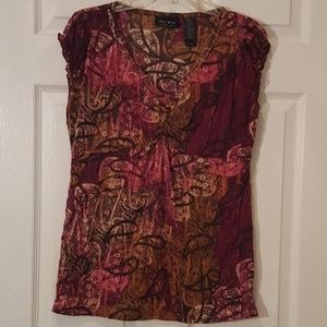 Axcess V Neck Top - M